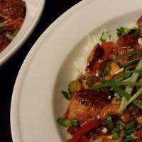 Asian-spiced Chicken Meatball Stir Fry