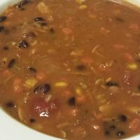 Southwestern Turkey Bean Soup
