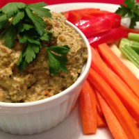 Heart Healthy Roasted Broccoli Dip