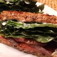 Smoked Salmon BLT Sandwich