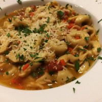 Italian Pesto Tortellini in Easy Au Jus
