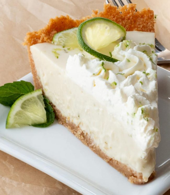 The Easiest Key Lime Pie – Perfectly Tart & Sweet