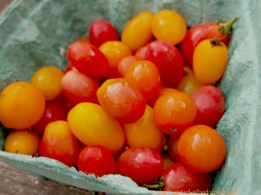 nothing says Summer to me like ripe local tomatoes, especially here in Jersey