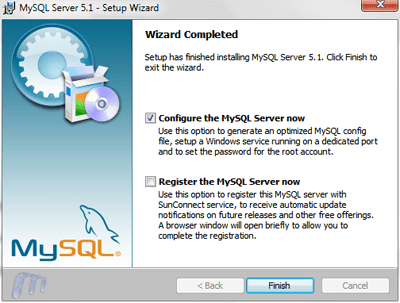 installing mysql on windows