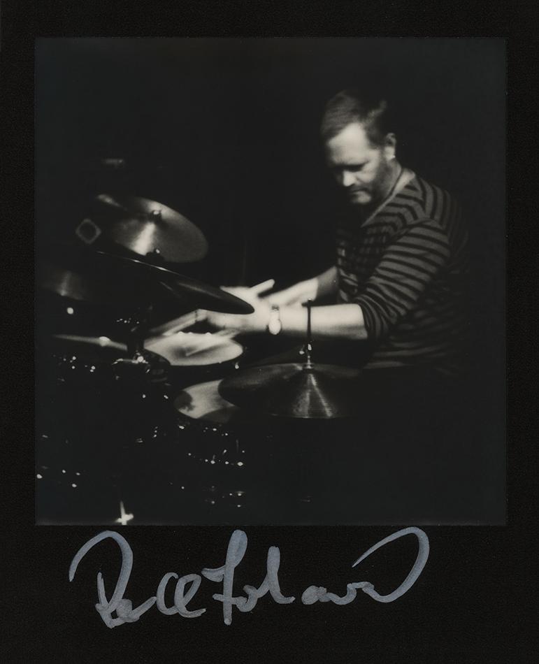 Per Oddvar Johansen, great Norwegian drummer and member of Helge Lien's Trio. Photo taken also before the 'Brothers' album release concert in Berlin, 2017