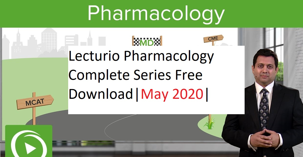 Download Lecturio Pharmacology Complete Series for free