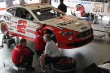 Brian Keselowski, #2, is my brother Rick's favorite... because he drives a Ford.