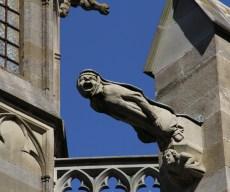 Gargoyle on the Basilica Saints Nazarre