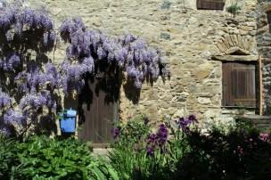 Village door in Minerve
