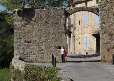 """La Porte d'Eau Lagrasse. Lagrasse also has the accolade """"Les Plus Beaux Villages de France"""""""