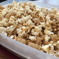Salted Caramel Chex Popcorn