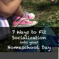 7 Ways to Fit Socialization Into Your Homeschool Day