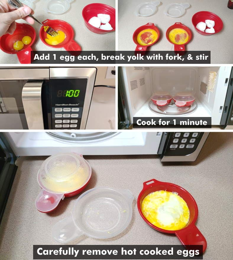 how to use microwave egg cookers fast