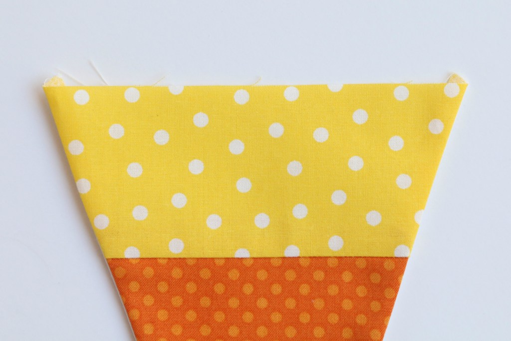 Candy Corn Bunting Tutorial