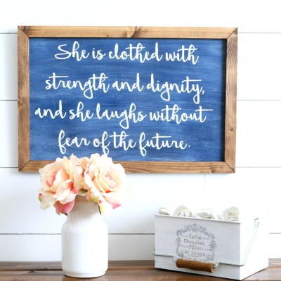 FARMHOUSE STYLE WOOD SIGNS