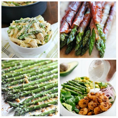 ASPARAGUS RECIPES TO GET YOU COOKING