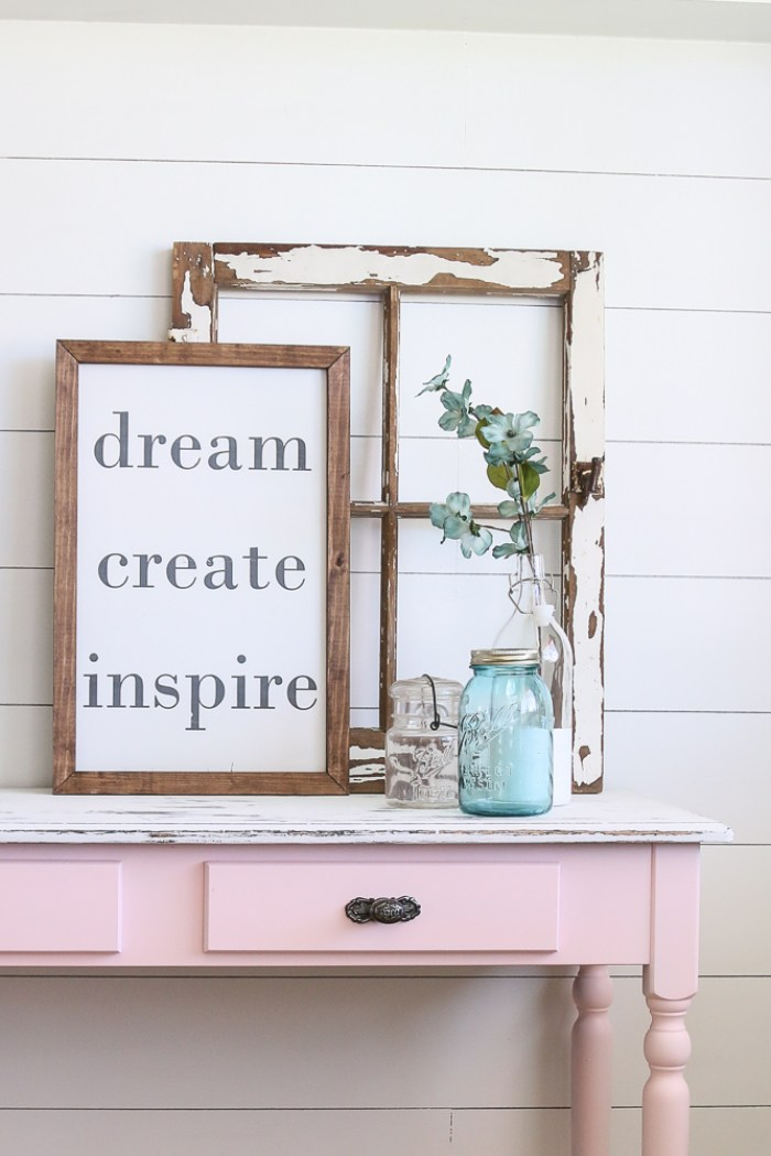 Furniture flips are fun...or at least they can be. Let me walk you through my Pretty in Pink furniture flip and I will tell you what I learned.