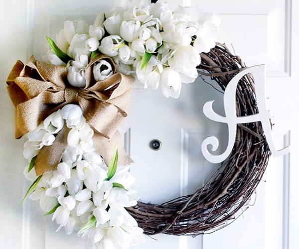 SPRING WREATHS + LINK PARTY 193