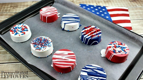 RED, WHITE AND BLUE SUMMER FUN + LINK PARTY 201