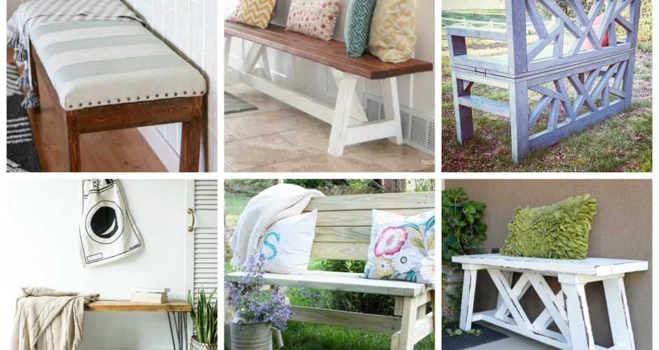 HOW TO BUILD A BENCH: THE BEST DIY TUTORIALS