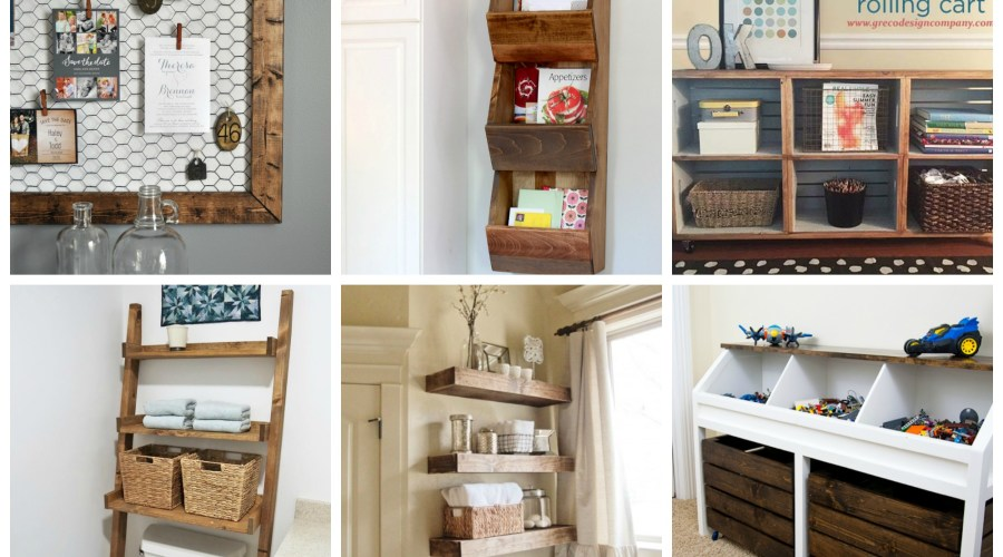 GET YOUR HOME ORGANIZED WITH A DIY PROJECT