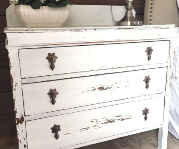 FURNITURE MAKEOVER IDEAS + LINK PARTY 206