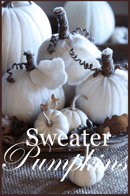 It is time to start cozying up your home for the colder months. Let me show you some fun ways to turn an old sweater into DIY home decor! TURN AN OLD SWEATER INTO DIY HOME DECOR