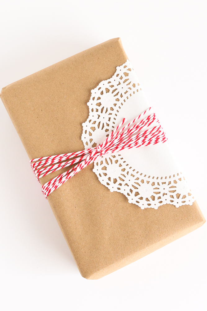 """Christmas is coming and if you are anything like me you are in """"style"""" mode! Why stop at the tree when you can create Farmhouse Style Gift Wrap? FARMHOUSE STYLE GIFT WRAP"""