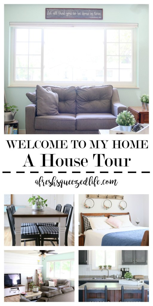 "Welcome to my home! My little house is being transformed from drab and boring to ""just right for me""! Come on in and tour my home! WELCOME TO MY HOME"