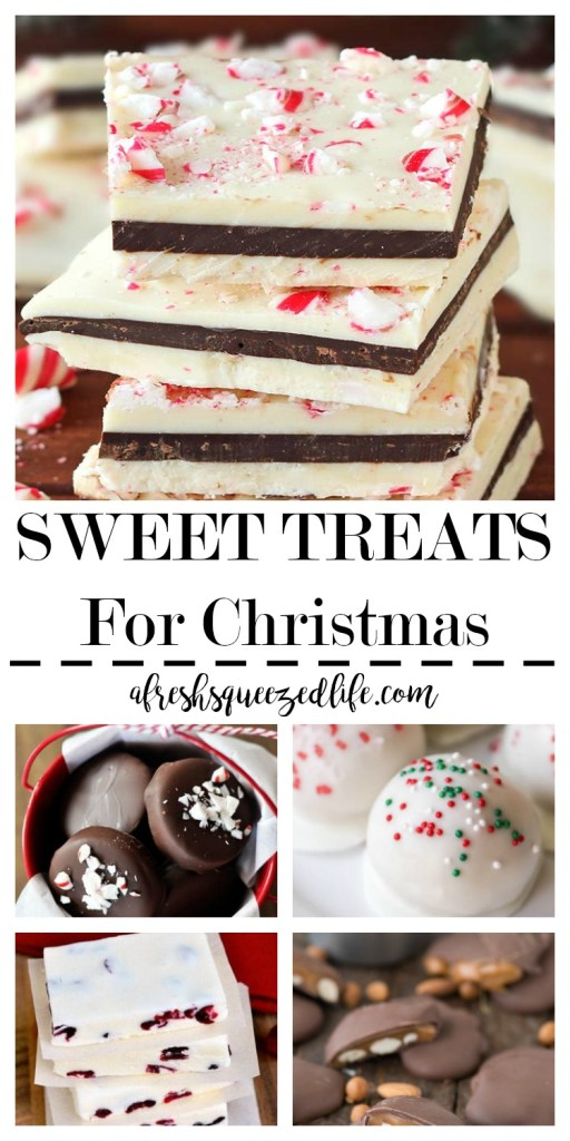Christmastime means getting out the Christmas candy recipes. Let me show you some of the yummiest sweet treats for Christmas! SWEET TREATS FOR CHRISTMAS