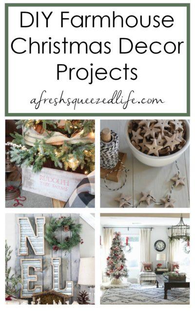 Farmhouse Christmas Decorating Ideas A Fresh Squeezed Life