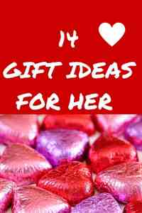 14 Valentine's Day Gift ideas for her