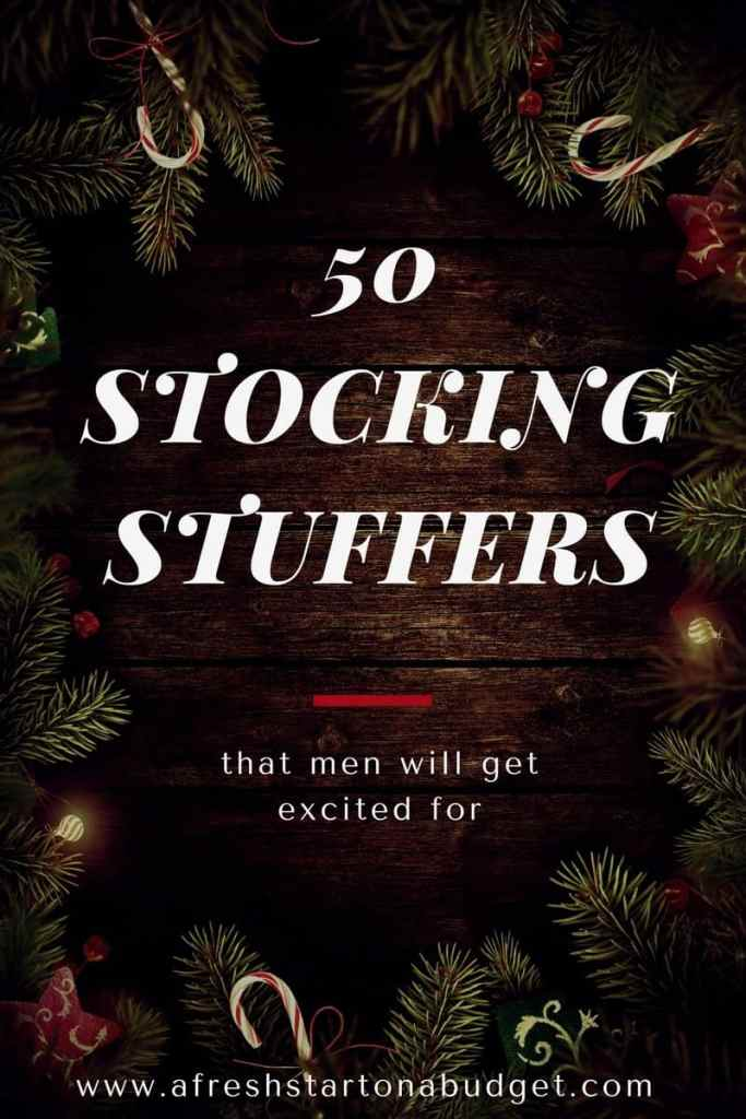 50 Stocking Stuffers that men will get excited for