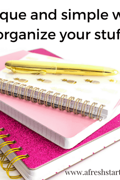 20 unique and simple ways to organize your stuff