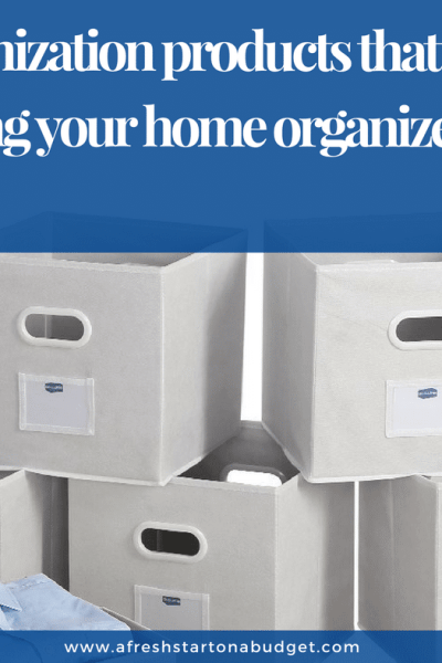 25 Organization products that will make keeping your home organized easier