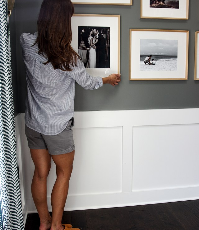 Arranging Modern Gallery Wall