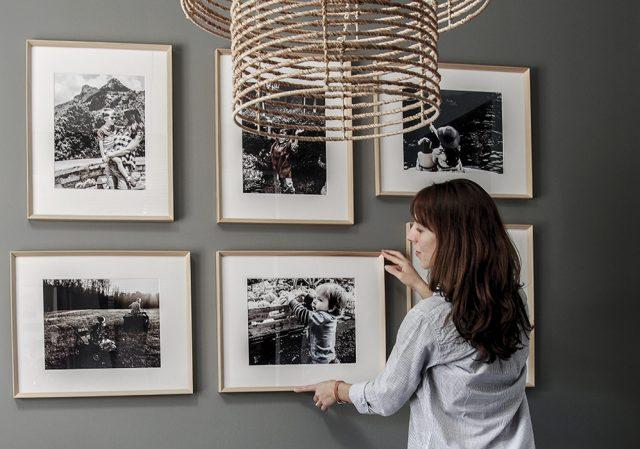 Modern Gallery Wall - Framing Fall Autumn Light