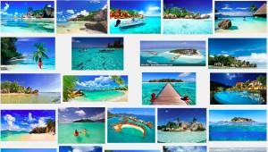 (11)検索すると出て来る楽園の写真