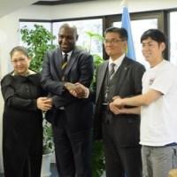 産学共同プロジェクト!日本ペイント、慶応大学とコンゴ民主大使館の内装リフォームに協賛!