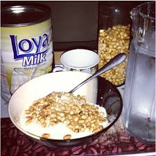 garri and milk
