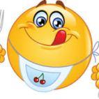 emoji eating