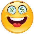 emoji money