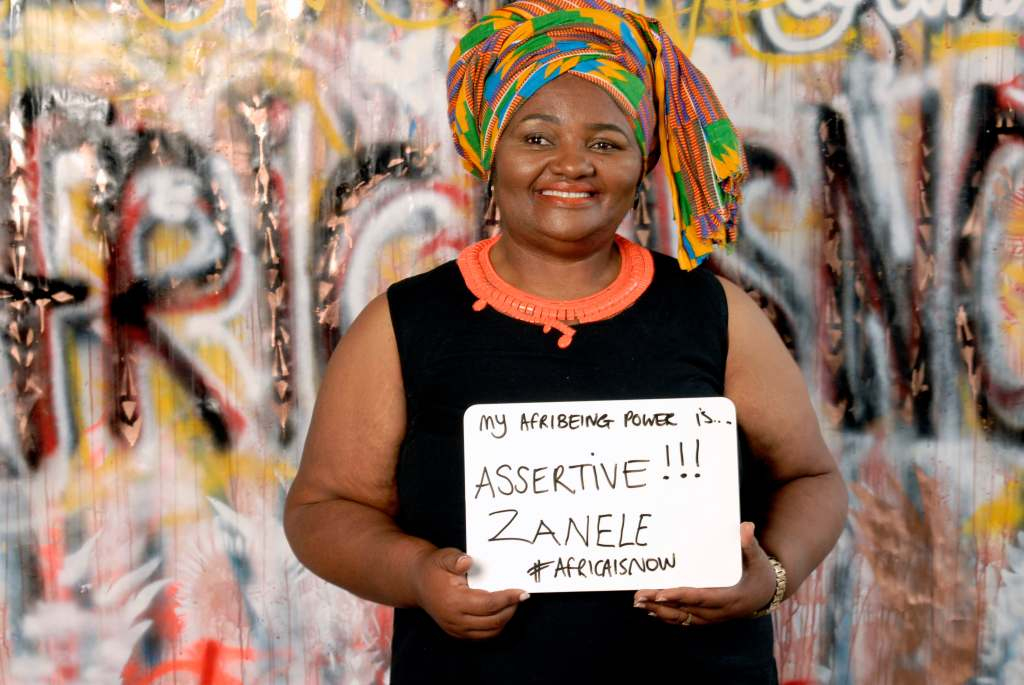 Zanela, mother of Siv Ngesi, says BEING ASSERTIVE has been her super power