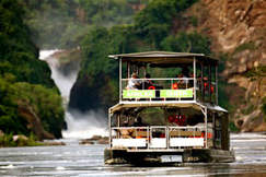 Boat Cruise Safari Murchison Falls Nationals Park