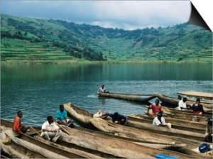 Activities in Lake Bunyonyi