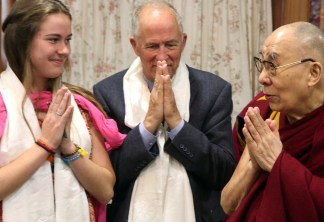 His Holiness the Dalai LamaDharamsala, India2019Photo by Shmuel Thaler