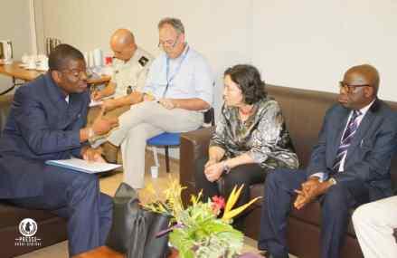 Kasaï Central : Leila Zerrougui de la MONUSCO se dit disposer à accompagner le programme d'action de Martin Kabuya
