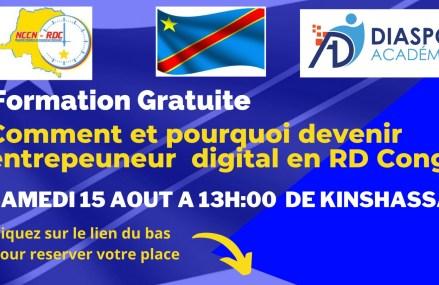 RDC: Nouvelle Chambre de Commerce Nationale associé à Diaspo Académie sur la voie de l'émergence des outils NTIC