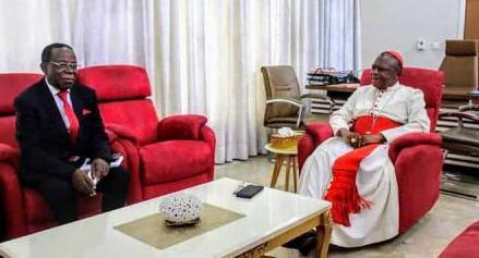 Kinshasa : Bahati reçu par le cardinal Ambongo