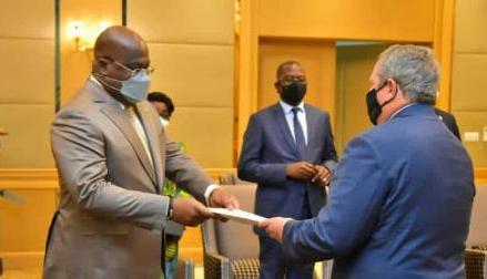 Présidence Union Africaine: le président des USA Joe Biden félicite Tshisekedi pour son élection